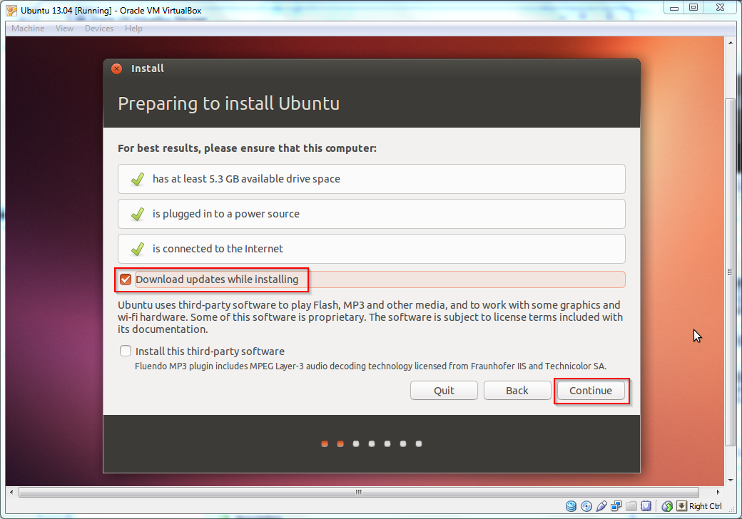 best virtual machine software for ubuntu 13 04