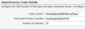 set ESB listeners in console