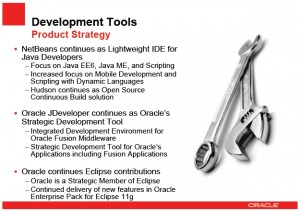Oracle Dev Tools
