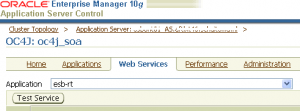 Oracle Enterprise Manager OC4J_SOA