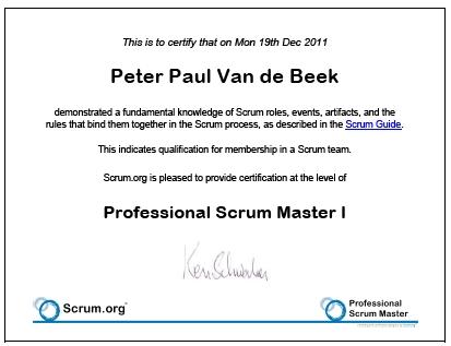 scrum master certification tutorial pdf