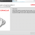 Oracle JDeveloper 11g 11.1.1.6 Installer