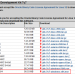 Install JDK 7 Update 7 (64-bit) - Download