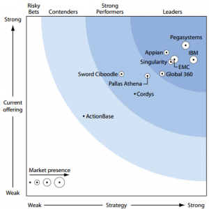 Forrester Wave - Dynamic Case Management q1 2011