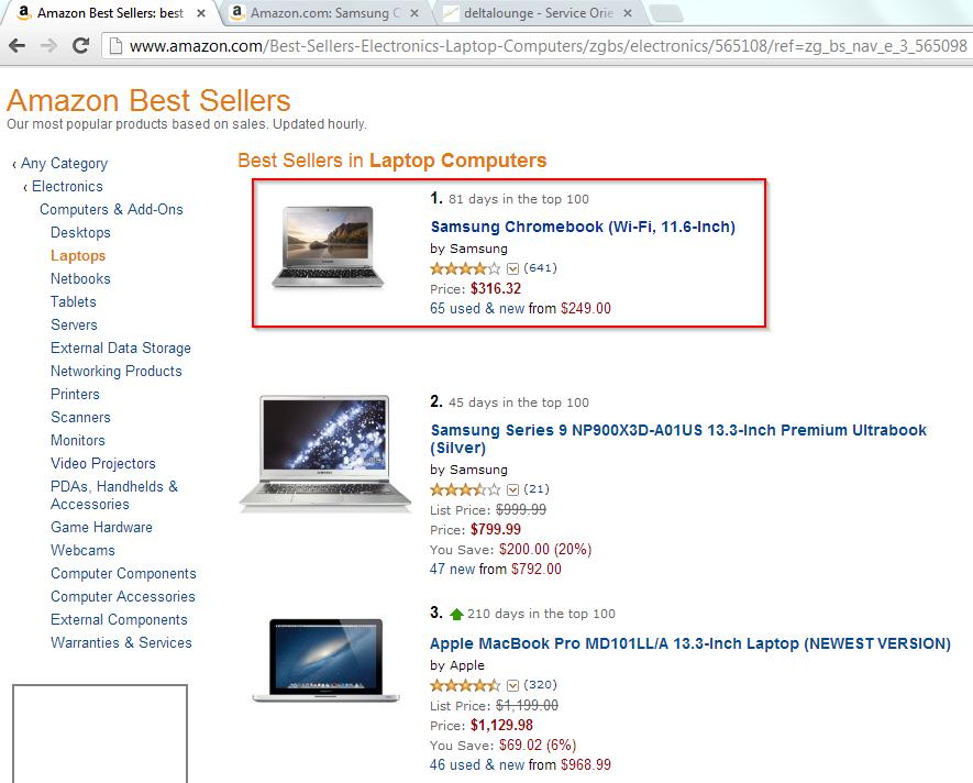 Amazon best sold laptop runs LinuxAmazon best sold laptop runs Linux