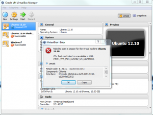 VirtualBox Manager VERR_VMX_MSR_LOCKED_OR_DISABLED