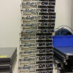 Stack of Hadoop nodes