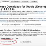 Oracle JDeveloper 11.1.1.6 Generic - Download
