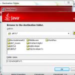Install JDK 7 Update 7 (64-bit) - choose directory
